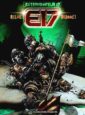 Exterminator 17 - cover of 2002 edition