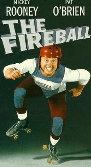 The Fireball - VHS cover