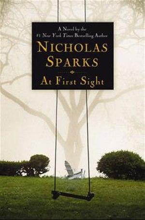 At First Sight (novel) - Hardback cover of At First Sight