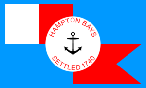 Hampton Bays, New York - Image: Flag of Hampton Bays, New York