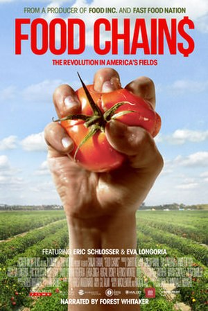 Food Chains (film) - Release poster