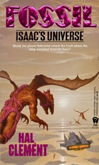 Fossil (novel) - First edition, published by DAW Books.