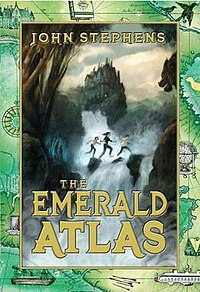 "Front Cover of ""The Emerald Atlas"" by John Stephens.jpg"