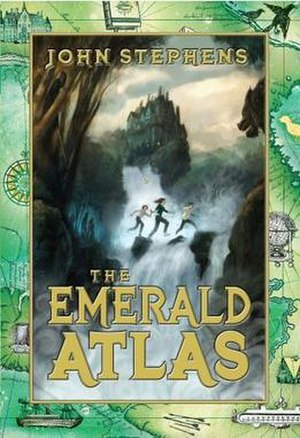 The Emerald Atlas - First edition cover
