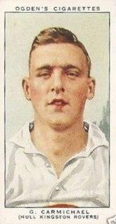 George Carmichael (rugby league) English rugby league footballer