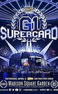 G1 Supercard 2019 Ring of Honor and New Japan Pro-Wrestling event