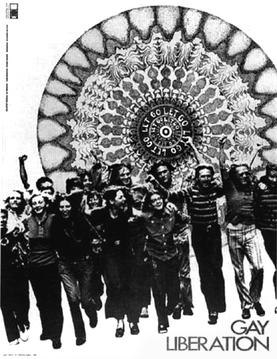 Gay liberation 1970 poster