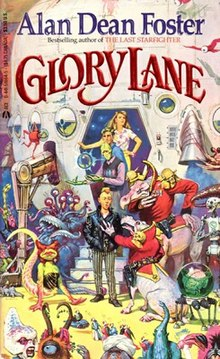 Glory Lane (Alan Dean Foster novel - cover art).jpg