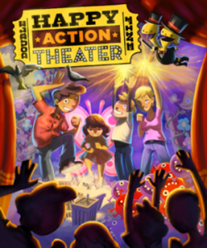 Double Fine Happy Action Theater - Image: Happy action theater cover