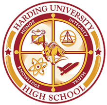 Harding University High School Seal.png