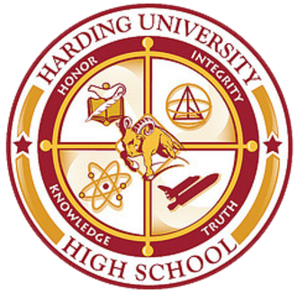 Harding University High School - Image: Harding University High School Seal