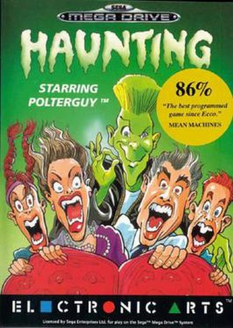 Haunting (video game) - Image: Haunting cover art