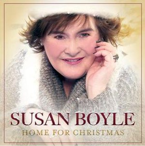 Home for Christmas (Susan Boyle album) - Image: Home For Christmas Susan Boyle Album