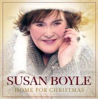 Home for Christmas (Susan Boyle album) - Image: Home For Christmas Susan Boyle Album