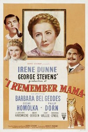 I Remember Mama (film) - Original film poster