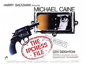 The Ipcress File (film) - Image: Ipcress File British quad poster
