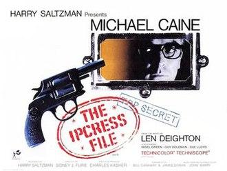 The Ipcress File (film) - Image: Ipcress File British quad poster