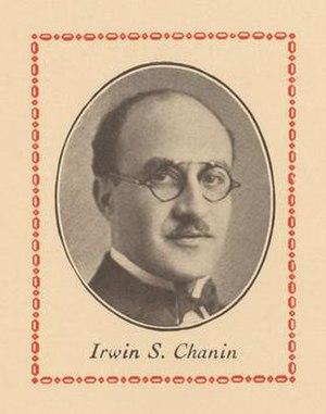 Irwin Chanin - Irwin Chanin in 1927