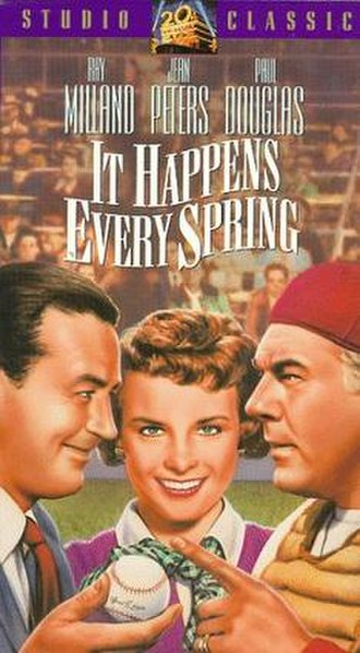 It Happens Every Spring - Image: It Happens Every Spring VHS