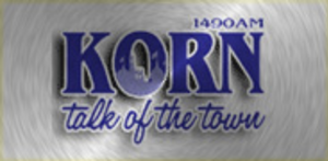 KORN (AM) - KORN News Radio 1490's previous logo