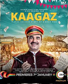 Download Kaagaz (2021) Hindi Full Movie 480p [400MB] | 720p [1GB] | 1080p [2GB]