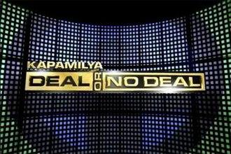 Kapamilya, Deal or No Deal - Image: Kapamilya Deal