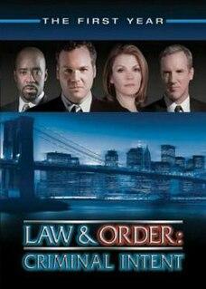 <i>Law & Order: Criminal Intent</i> (season 1) season of television series