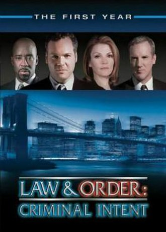 Law & Order: Criminal Intent (season 1) - Season 1 U.S. DVD cover