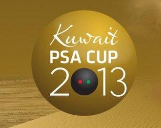 Kuwait PSA Cup - Image: Logo Kuwait PSA Cup 2013