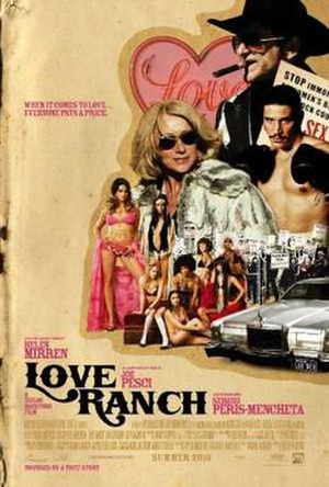 Love Ranch - Theatrical release poster