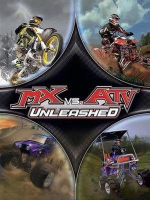 MX vs. ATV Unleashed - Image: MX vs. ATV Unleashed