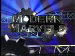 Modern Marvels - A former title screenshot of Modern Marvels