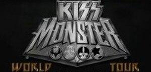 Monster World Tour (Kiss) - Image: Monster World Tour Logo