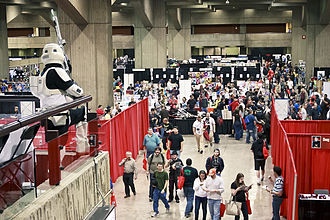 Montreal Comiccon - View of the main hall during the 2011 edition