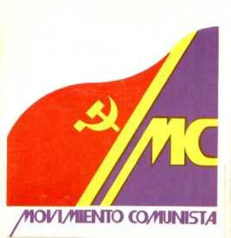 Communist Movement - Image: Movimiento Comunista de España (logo)