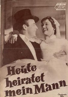 <i>My Husbands Getting Married Today</i> 1956 film