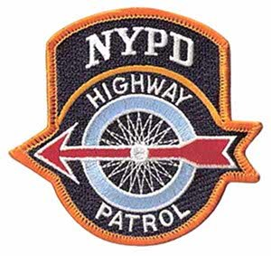 New York City Police Department Highway Patrol - Image: NYPD Highway Patrol patch