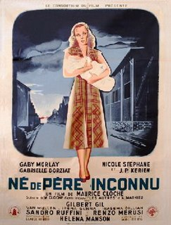 <i>Born of Unknown Father</i> 1950 film by Maurice Cloche