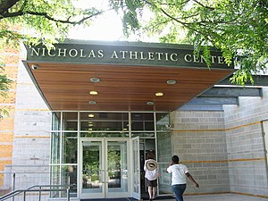 Buckingham Browne & Nichols - The entrance to the Nicholas Athletic Center.