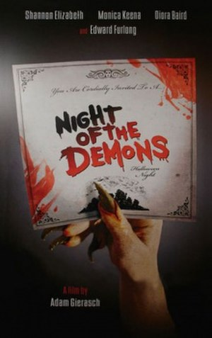Night of the Demons (2009 film) - Theatrical teaser poster