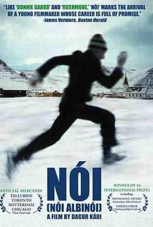 Cinema of Iceland - DVD cover for Noi the Albino