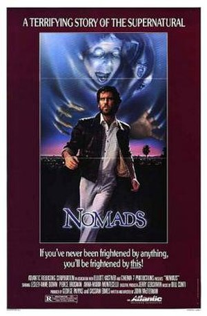 Nomads (1986 film) - Theatrical release poster