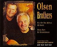Olsen Brothers - Muŝo sur la Wings de Love.jpg