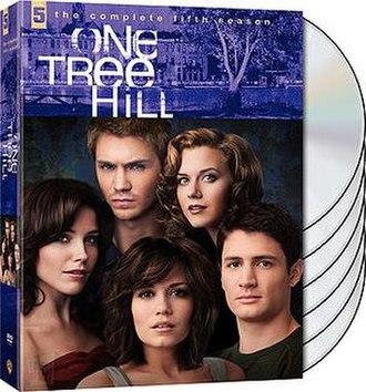 One Tree Hill (season 5) - One Tree Hill Season 5 DVD cover