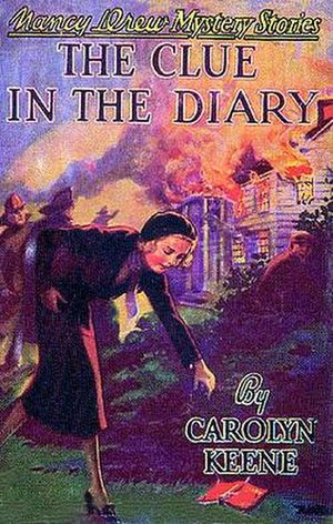 The Clue in the Diary - Original edition cover