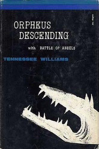 Orpheus Descending - First edition cover (New Directions, 1958)