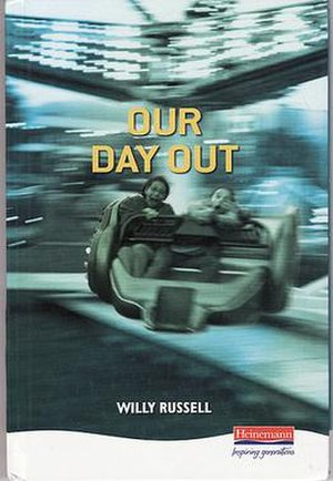 Our Day Out (musical) - Front cover of the 1993 version of Our Day Out from Heinemann Plays series 1993