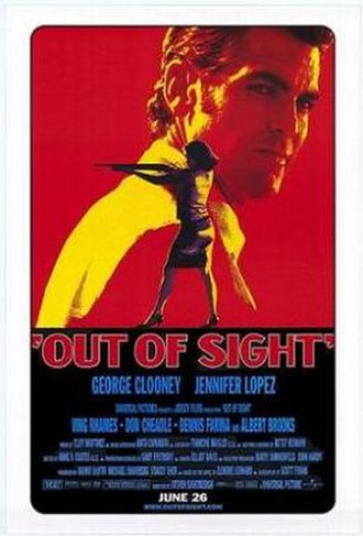 Out of Sight - Image: Out of Sight 1998 film poster