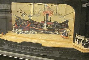 Boris Aronson - Set design model for original 1976 production of Pacific Overtures.