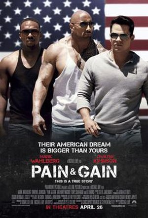 Pain & Gain - Theatrical release poster